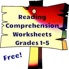 free reading comprehension worksheets reading comprehension
