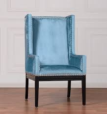 Modern Digs Furniture by Tribeca Chair Blue Velvet Modern Digs Furniture