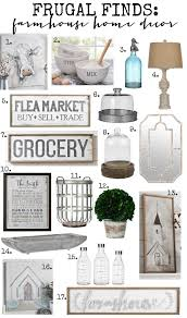 frugal finds farmhouse furniture u0026 home decor