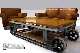 Industrial Cart Coffee Table Industrial Coffee Table U2013 Flight Studio Ltd