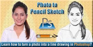 photo to pencil sketch photoshop tutorial