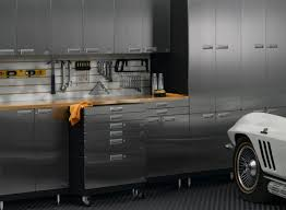 Storage Cabinets Metal Exterior Garage Idea With Metal Lockers And Portable Metal