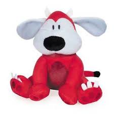 little red devil dog halloween toys for dogs plush toy two