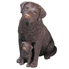 figurines country artists dogs sandicast sculptures