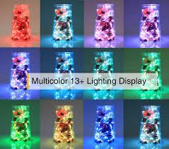 amazon com homestarry led string lights battery powered multi