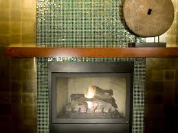 Mosaic Tile Fireplace Surround by Glass Tile Fireplace Surrounds Glass Mosaic When Paired With