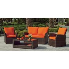 casanova canapé salon de jardin casanova 7 1 sofa 2 places 2 fauteuils 1 table