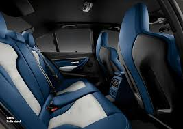 bmw blue interior bmw customer commissions highly personalized m3