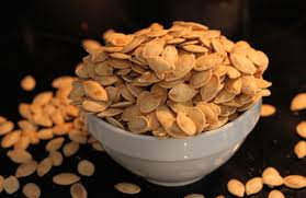 Toasting Pumpkin Seeds Cinnamon Sugar foolproof steps for roasting pumpkin seeds at home famlii