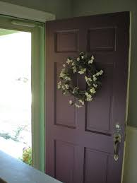 Interior Door Colors by Olive And Eggplant Purple Front Doors Green Walls And Sea Foam