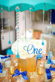Blue And Gold Baby Shower Decorations by 186 Best Baby Shower Party Ideas Images On Pinterest Baby Shower