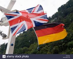 Germany Ww1 Flag British And German Flags Stock Photo Royalty Free Image 32442477