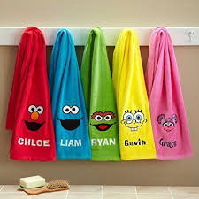 bathroom buy personalized sesame bath towels for