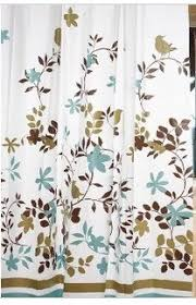 Teal And Brown Shower Curtain Amazon Com Garden Floral Shower Curtain With Hooks 71