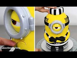 minions cake how to make a minion cake by cakes stepbystep