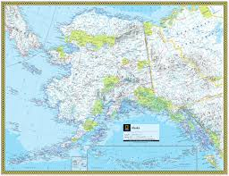 Alaska Map by Alaska Atlas Maps
