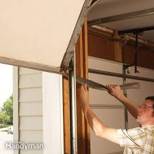how to install a garage door opener family handyman