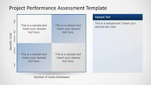 Performance Appraisal Report Sample Project Performance Assessment Template For Powerpoint