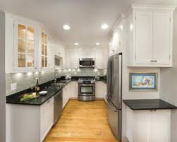 amazing of narrow kitchen ideas 22 stylish narrow kitchen