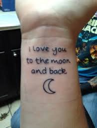 20 i love you to the moon and back tattoo ideas moon tattoo