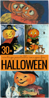 Free Printable Halloween Books by Remodelaholic 30 Free Printable Vintage Halloween Images