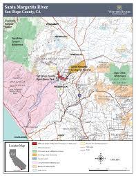 Map Of Camp Pendleton California U0027s Santa Margarita River Western Rivers Conservancy