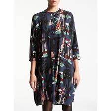 dress pattern john lewis kin by john lewis raw collage shirt dress multi amaliah