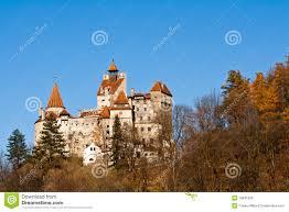 autumn at bran castle dracula u0027s castle stock photo image 16845236