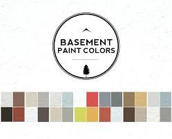 best colors for basement family room basement paint colors guide