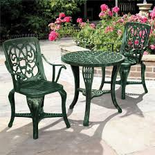Black Rod Iron Patio Furniture Furniture Gorgeous Cast Iron Patio Set Black Wrought Iron Patio