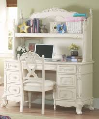 White Computer Desk With Hutch Sale Desk Study Table For White Writing Desk
