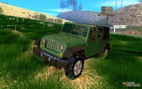 2007 jeep unlimited wrangler unlimited 2007 for gta san andreas