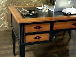 bureau bois massif occasion table bureau bois bureau bois noir bureau ministre mathilde