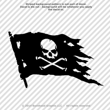 History Of The Pirate Flag Pirate Stickers Ebay