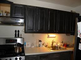 Black Distressed Kitchen Cabinets Painting Kitchen Cabinets Black Distressed Modern Cabinets