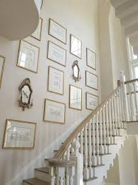 decorating crush hanging art in the stairwell satori design for