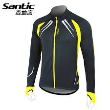 windproof cycling jackets mens 36 59 know more santic thermal fleece winter cycling jacket men