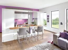 photo salon cuisine ouverte decoration cuisine salon aire ouverte