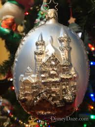 12 days of disney day 8 castle ornaments disneydaze