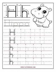 kindergarten handwriting practice worksheet printable fun for