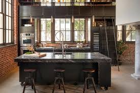 industrial style kitchen island contemporary industrial design kitchen industrial with san