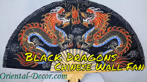 Chinese Wall Fan by Black Dragons Chinese Wall Fan Youtube