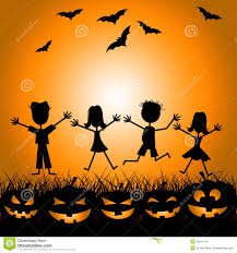 kids halloween background pictures halloween background stock vector image 45410884