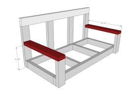 porch building plans porch swing easy diy project furniture plans dma homes 1790