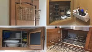 kitchen sink cabinet sponge holder 7 organization hacks for rv kitchen cabinets rv inspiration