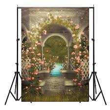 vinyl backdrops 5x7ft castle photography background wedding photo studio vinyl