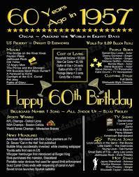 60th birthday poster chalkboard file 60 years old art deco fun