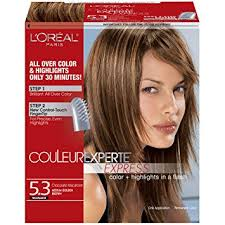 golden apricot hair color amazon com l oreal paris couleur experte express hair color 5 3