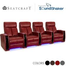 home theater leather chairs seatcraft seville leather gel home theater seating power recline