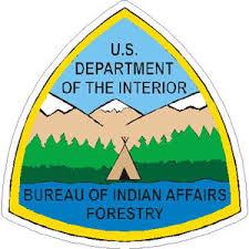 stickers bureau bureau of indian affairs forestry vinyl sticker